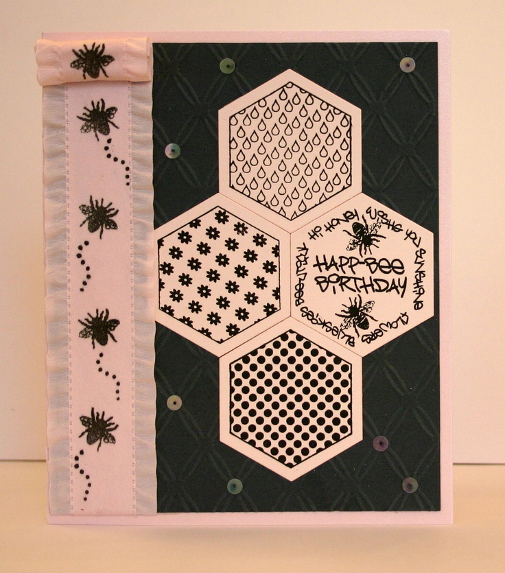 Bee Sentiments Stamp by Crimson Cloud