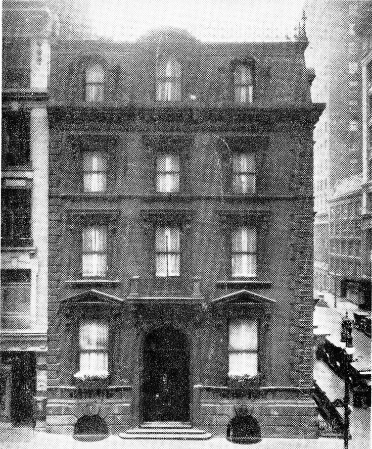 Jay Gould, Gilded Age industrialist's, Fifth Avenue Mansion, NYC