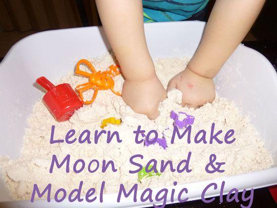 how to make moon dough