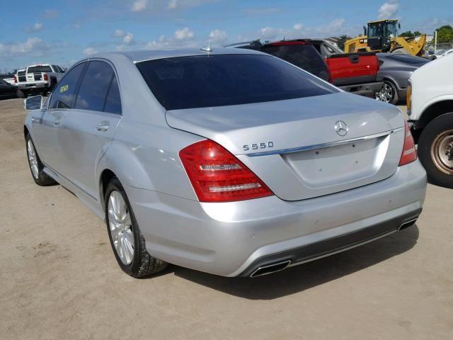 2011 Mercedes Benz S 550 For Sale Fl Miami North Salvage Cars Copart Usa Insurance Auto Auction Car Auctions Auction