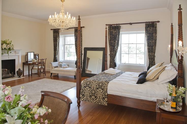 Bridal suite at Botleys Mansion