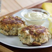 Classic OLD BAY® Crab Cakes... this is the original recipe that appeared on the back of the OLD BAY® can. (It's a keeper.) Baking powder makes the crab cakes light and fluffy, while OLD BAY Seasoning adds personality. Serves four lucky folks.