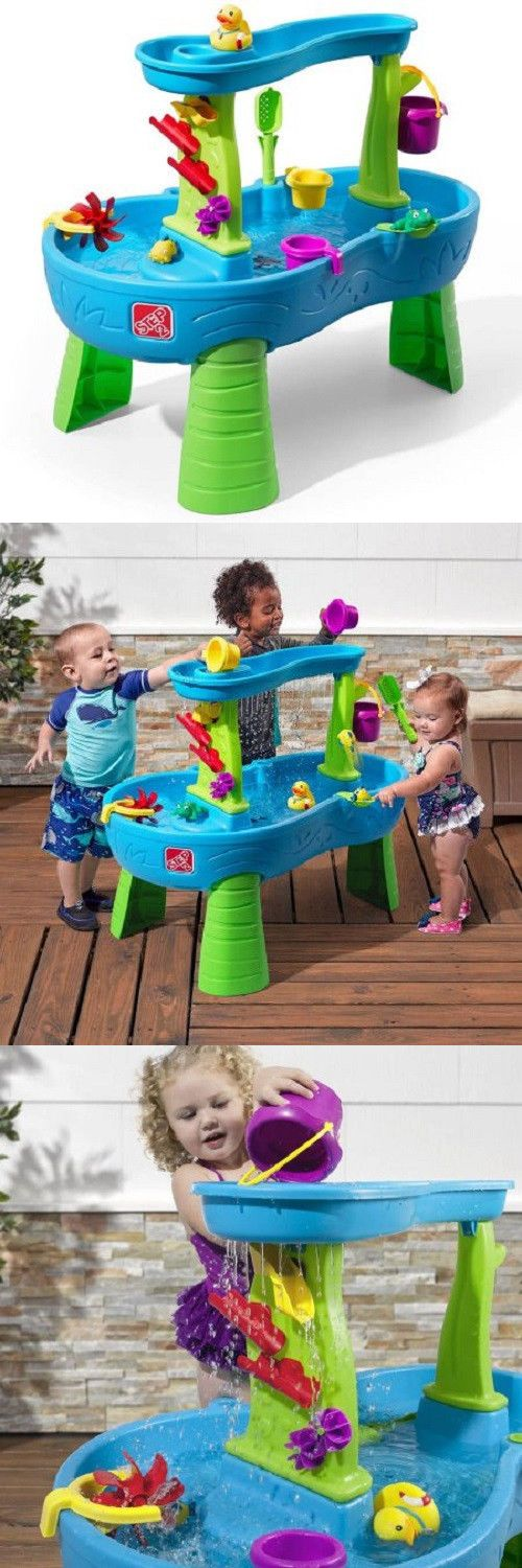 Step 2 52344: Brand New Step2 Rain Showers Splash Pond Water Table -> BUY IT NOW ONLY: $52.25 on eBay!