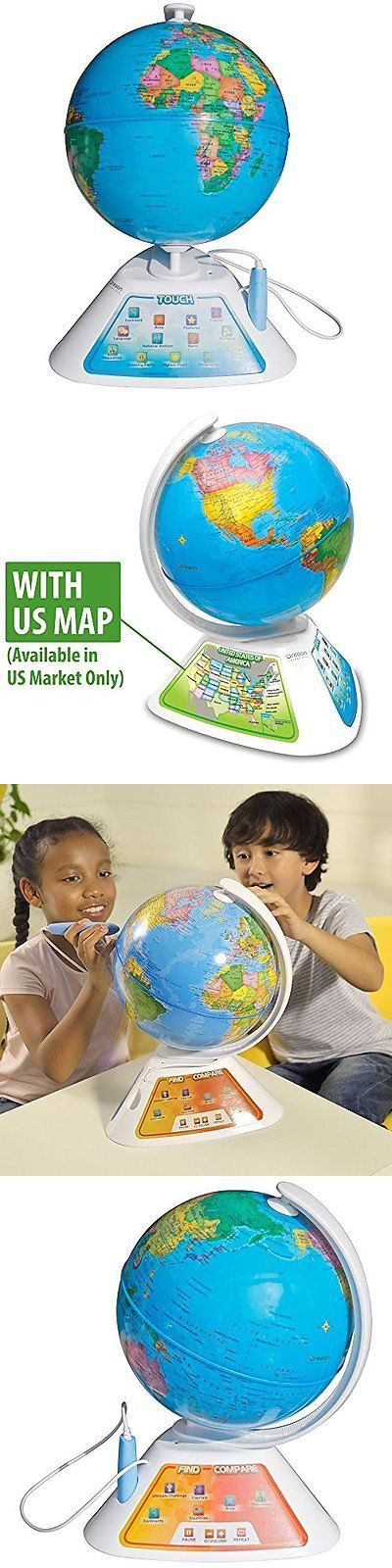 Geography and History 11733: Smart Globe Interactive Discover Earth Globe With Smart Pen Learn Explore -> BUY IT NOW ONLY: $55.84 on eBay!