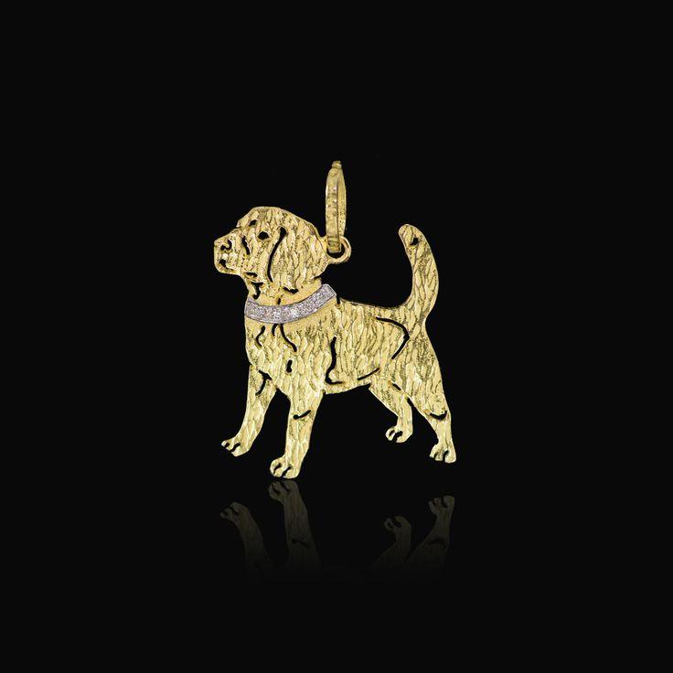 Ciondolo Cane  #cani #pets #jewellery #pendant #love #JustCorgis #bestfriend #gold #pendant #pantheon #rome #handmade