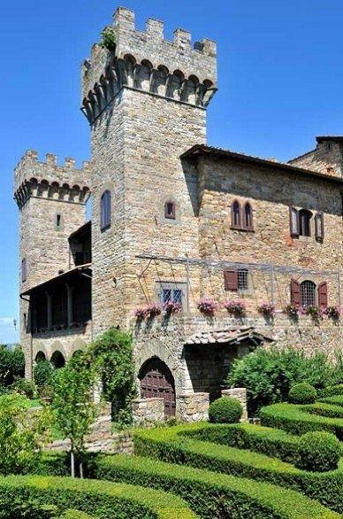 Castles / Castello di Panzano, Chianti region, Italy