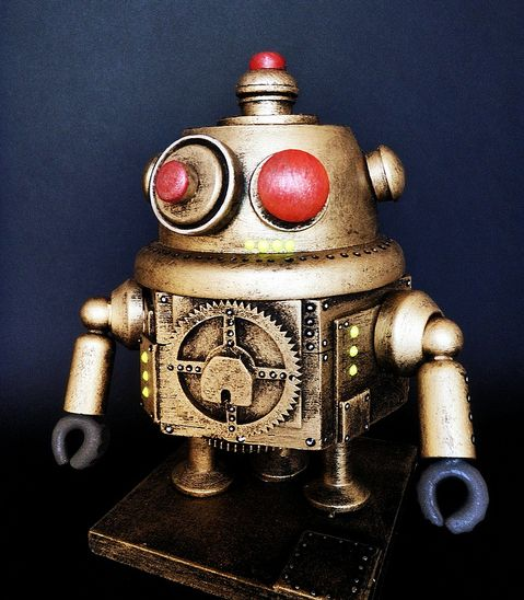 Gallery Rayguns And Robots Will Zap Your Eyes With Retro: 17 Best Images About Retro Futurism Robots On Pinterest