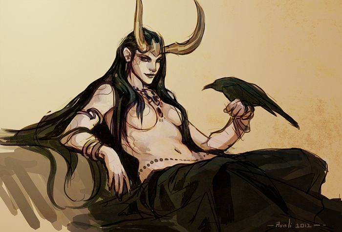 Lady Loki by ladyavali.deviantart.com on @deviantART