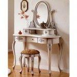 White Antique Vanity Set