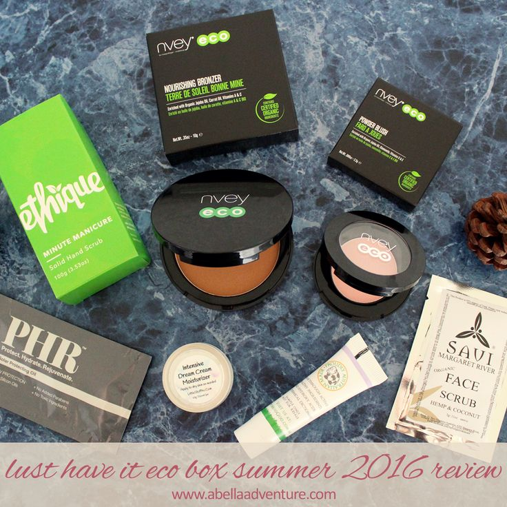 Lust Have It Eco Box Summer 2016 Review | Use code ECOBELLA for $5 off your first box | @lusthaveit | A Bella Adventure | http://www.abellaadventure.com/beauty/lust-have-it-eco-box-summer-2016-review/