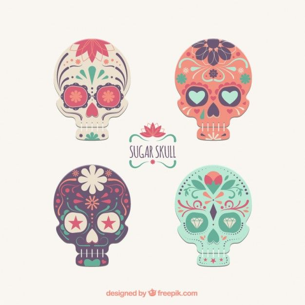 Ms de 25 ideas increbles sobre Calaveras de azcar en Pinterest