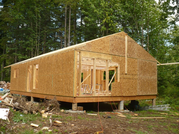 Building A Small Home 24x40 Cottages And Cabins Shacks