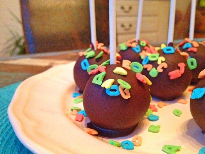 Schnelle Einschulungs-Cakepops
