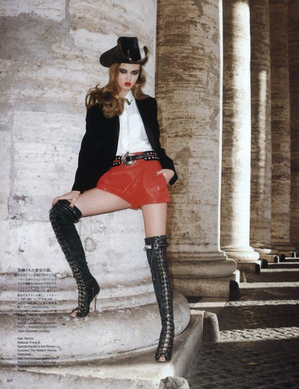 2-Lindsey Wixson by Terry Richardson for Vogue Nippon June 2011