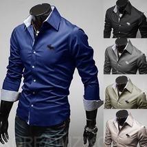 Ingyenes szállítás 2014-es férfi ing Üzleti stílus, hosszú ujjú férfi ruhák szilárd ing meleg eladási ingek férfiak számára C32