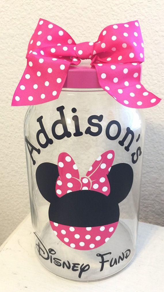 Minnie Mouse Disney Fund Jar