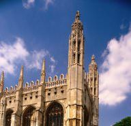 78 things to do in Cambridge - sightseeing at King's College Chapel and activities like Walking Tours.