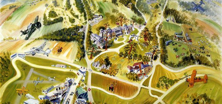 Ian Weatherhead - Goodwood Estate map