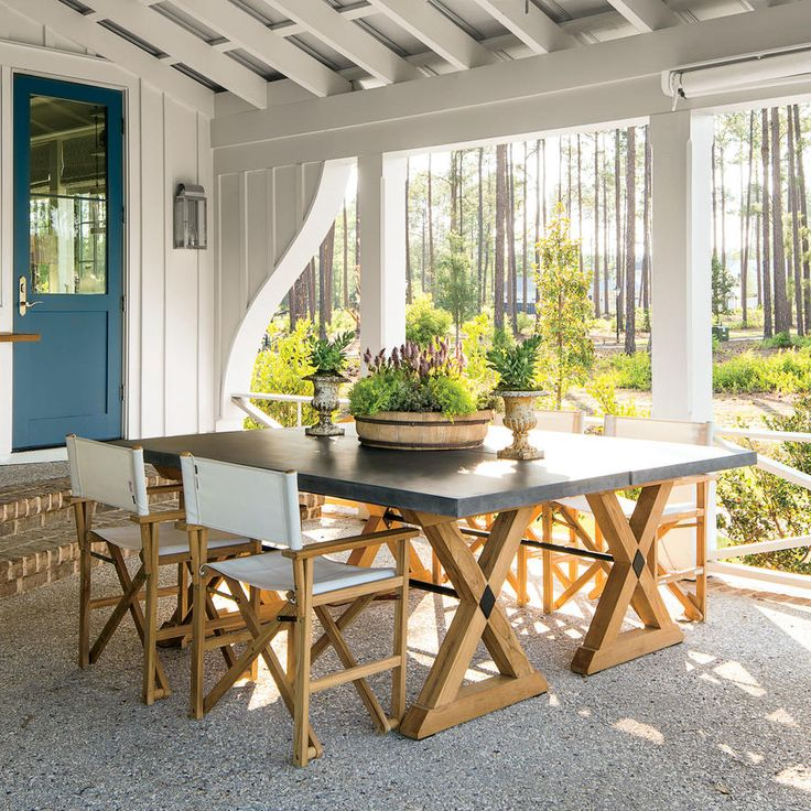 20 Decorating Ideas From The Southern Living Idea House: 983 Best Porches, Patios, Decks And Yards Images On