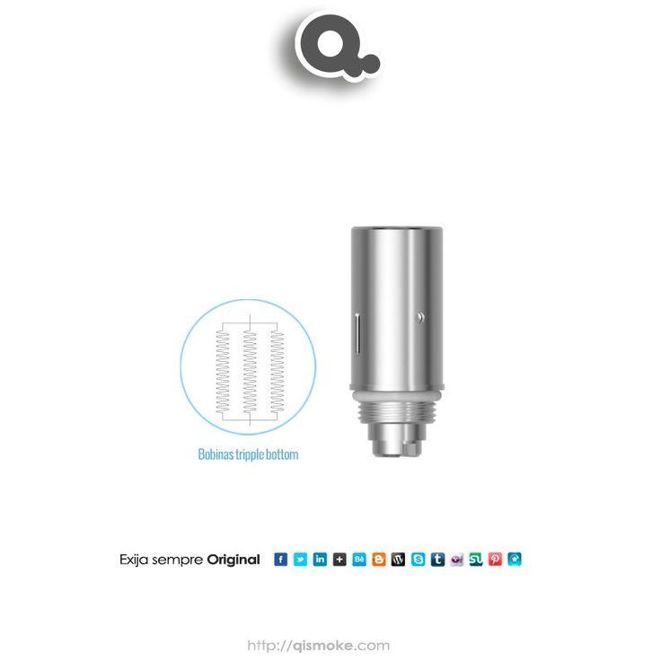 Um atomizador novinho Introdução do produto:    Parâmetro:  Altura: 20,6 milímetros  Diâmetro: 8,5 milímetros  Resistance: 1.4ohm