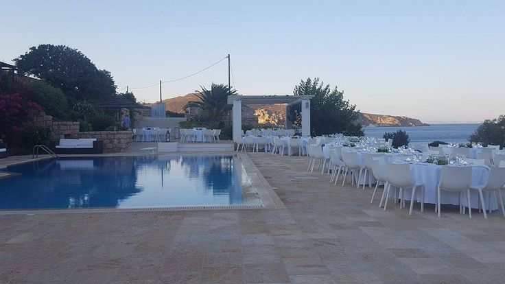 For any social event, whether a dinner reception, a gathering at your home, a special event or a wedding party, our chef and his culinary team will make the appropriate suggestions according to your needs and budget. Take a look at a recent wedding reception, where Apocalypsis restaurant catered for Katerina & Carlo's wedding reception, in Onar Patmos Villas.