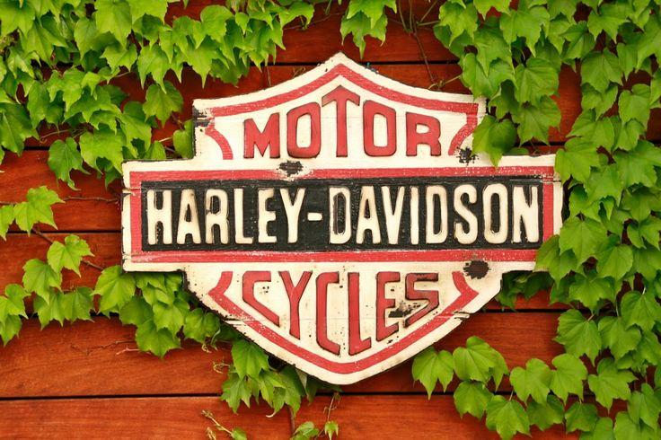 Cuadro Harley Davidson feelgoodretrovintage@gmail.com