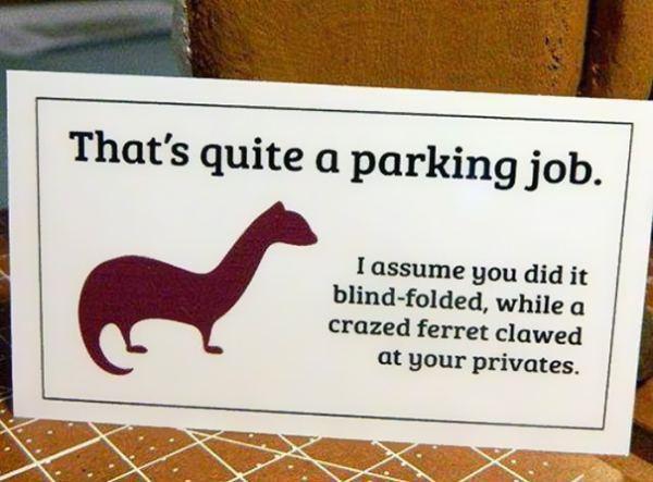 Nobody likes a bad parker (15 photos) | BY CAITLIN | JUN 16, 2015