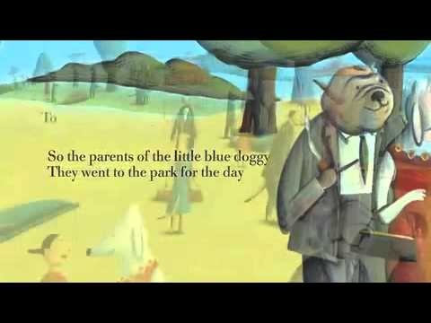 Meet The Little Blue Doggy and family in this book trailer for the original storybook-CD.