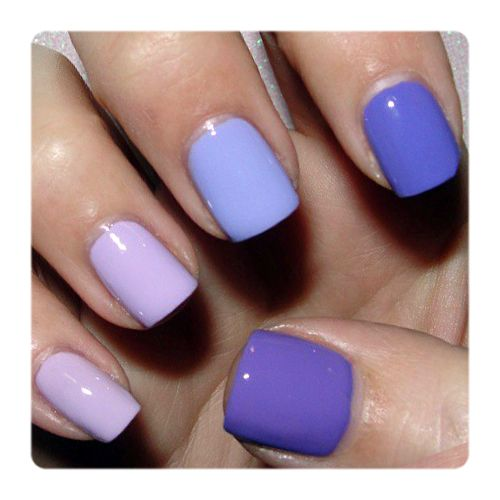 Julep's Fan Nail of the Day by Michelle