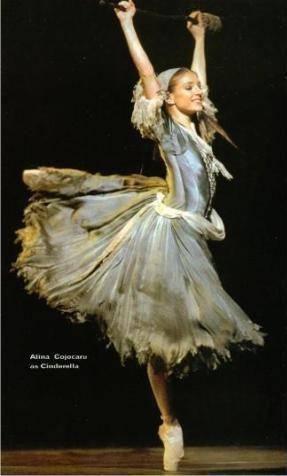 Alina Cojocaru in Cinderella #PintoWin #NapoleonPerdis #Cinderella