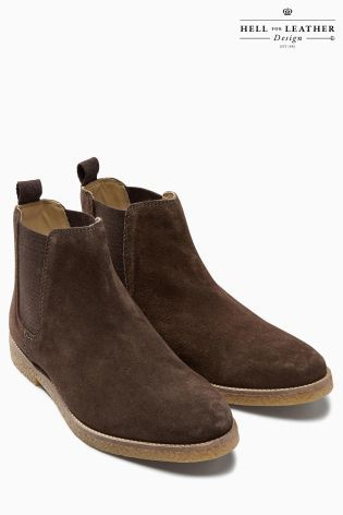 Buy Brown Suede Chelsea Boot from the Next UK online shop