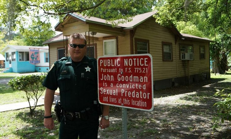 The Florida county where police post 'sexual predator' road signs outside homes of convicted rapists and child molesters
