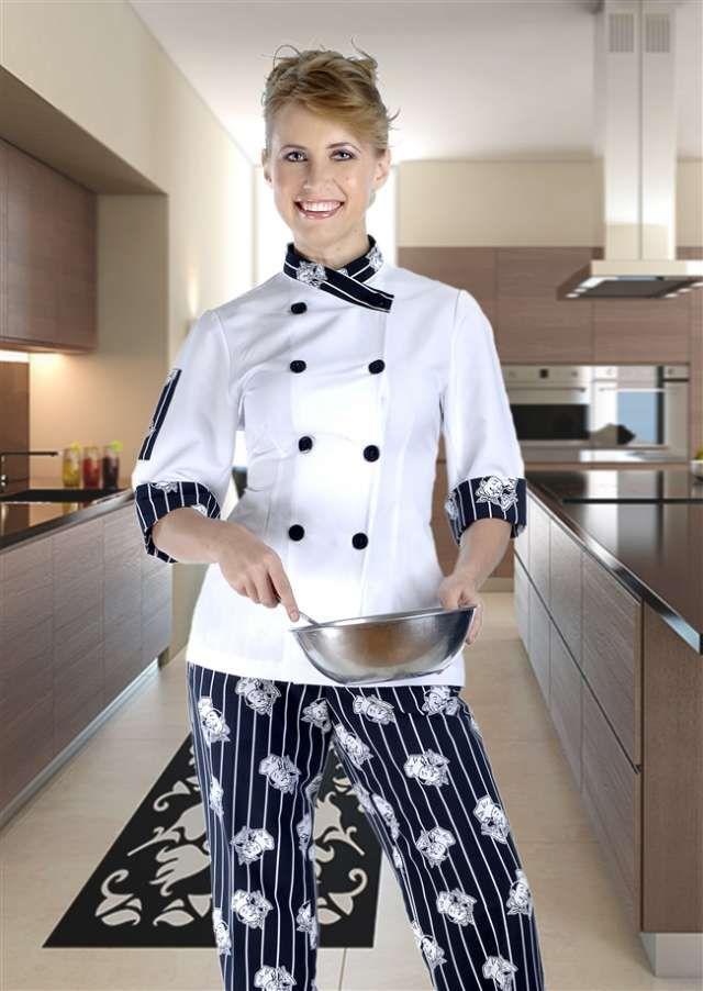 Resultado de imagen para uniformes de chef mujer