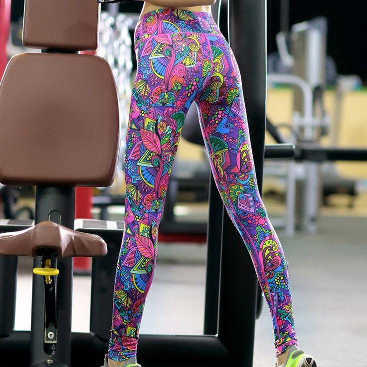 Купить товарUMLIFE Женщины Высокой Упругой Плюс Размер Yoga Брюки Sexy Lady Отпечатано Колготки Профессиональный Фитнес Ходовые Брюки Упругие Талии Брюки в категории Кальсоны йогина AliExpress.