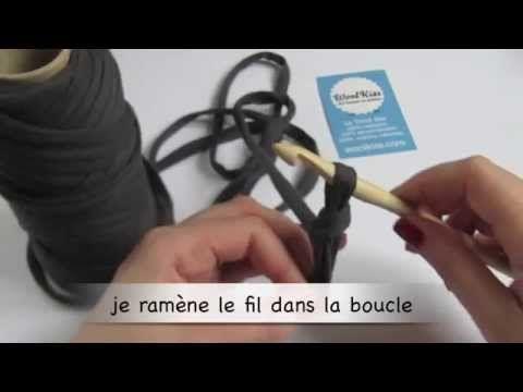 # Crochet # Tenir son crochet et faire une chaînette by WoolKiss