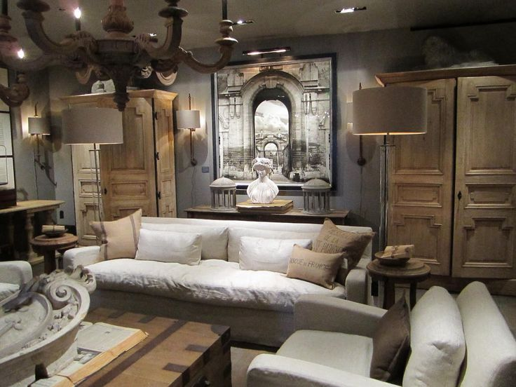Best Interer Restorationhardware Images On Pinterest