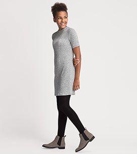 Meisjes Gebreide jurk in zilver –  Voordelig Online bij C&A