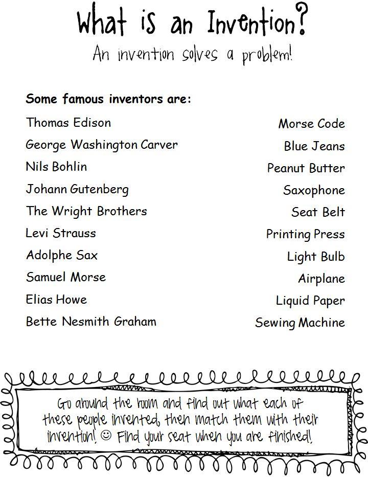 Buzz Around in 2nd Grade: Invention Unit Freebie!