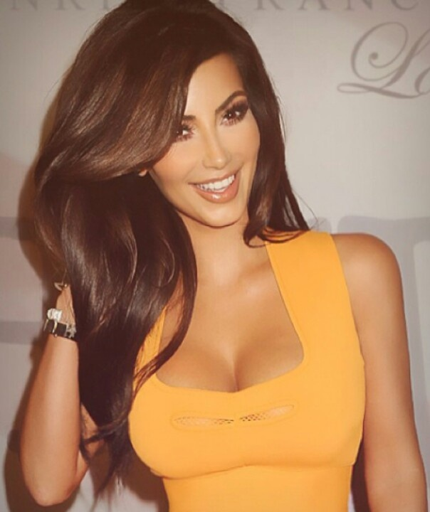 Not A Fan Of The Kardashians But Kims Hair Looks Completely Fabulous