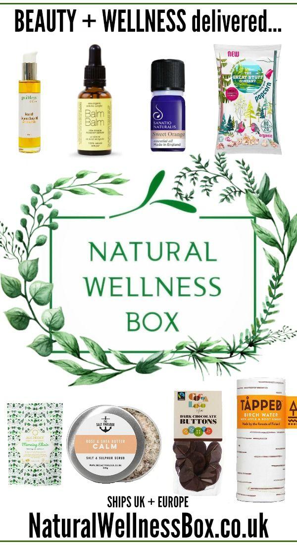 Natural Wellness Box 1 Beauty Box Every 2 Months Cruelty Free