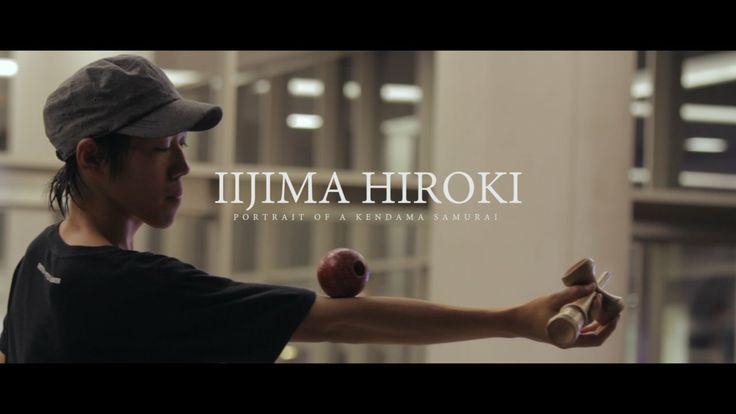 Iijima Hiroki : Portrait of a Kendama Samurai