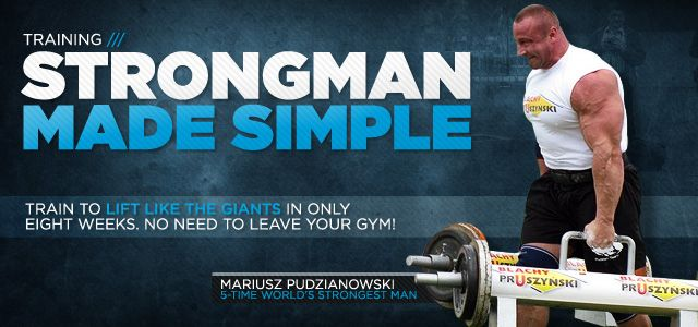 Good info from bodybuilding.com - Find Your Strength: Strongman Training In Your Average Gym