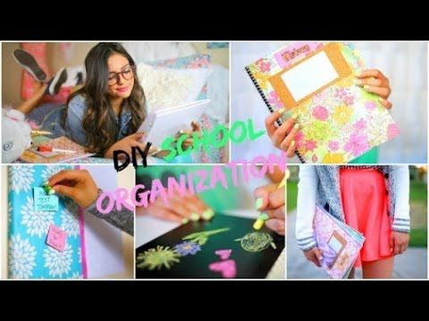 Снова в Школу: DIY Идеи и Декор Комнаты ★ от Бетани Мота - YouTube