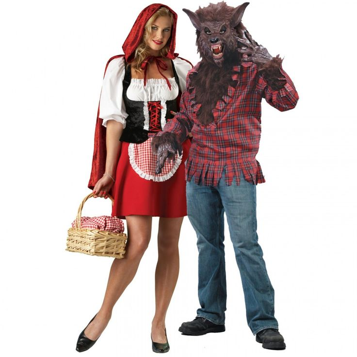 Little Red Riding Hood and Big Bad Wolf Halloween Costumes