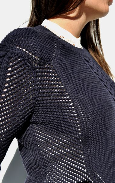 vanessa bruno athé / cable knit pullover