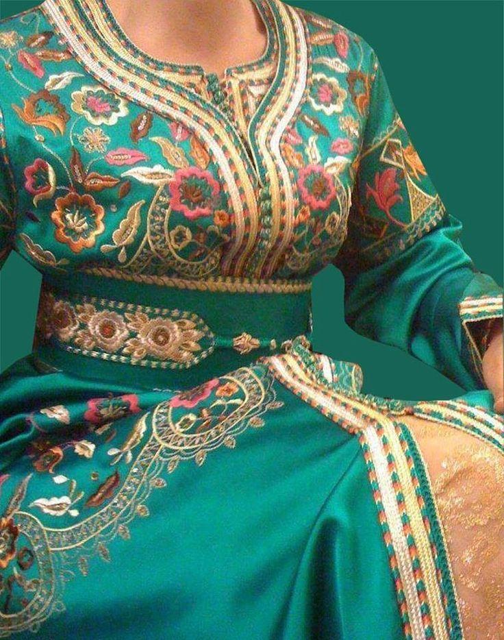 caftan mariage haute couture