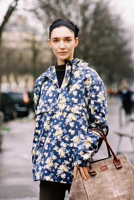 Floral hooded jacket....I want