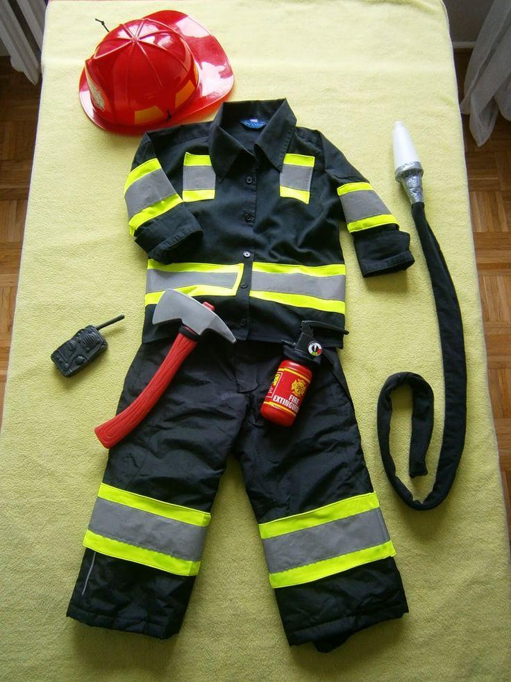 Bal przebierańców - strój Strażaka