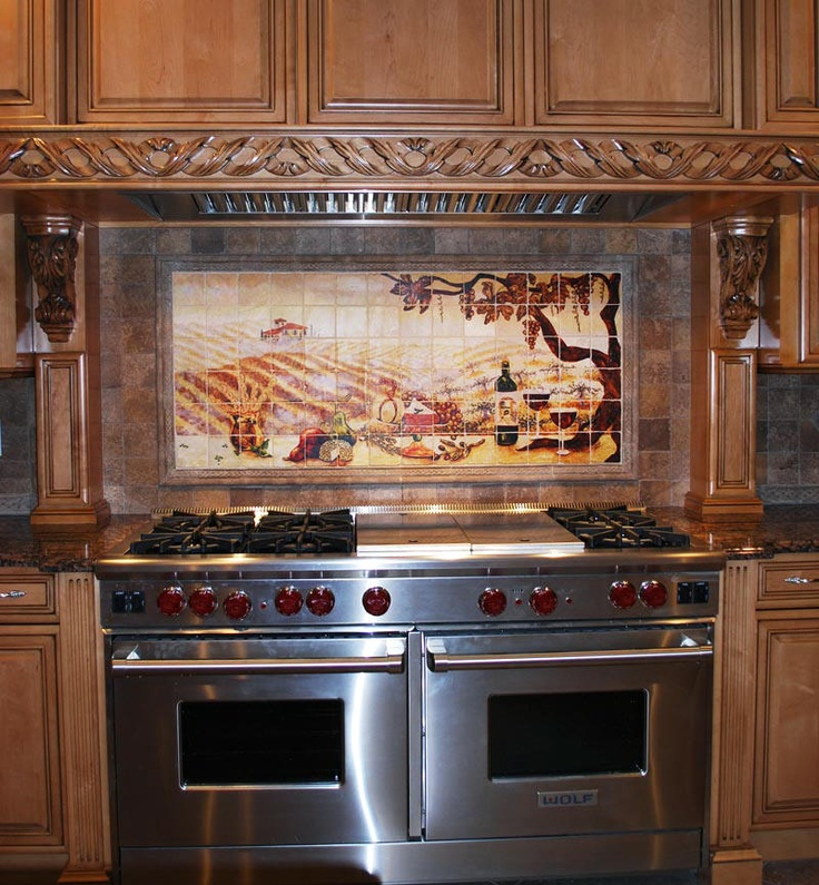 Tuscan Kitchen Tile Backsplash Ideas: 17 Best Images About HOME (kitchen) On Pinterest