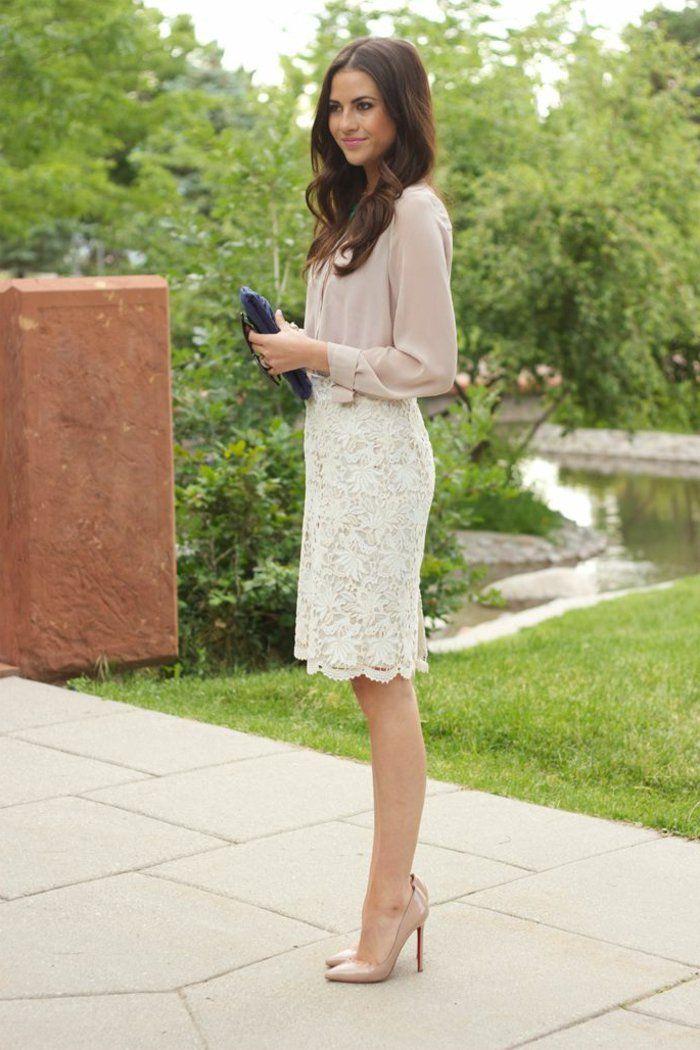 b1b65334ee04 Rien de plus féminin que la jupe crayon !